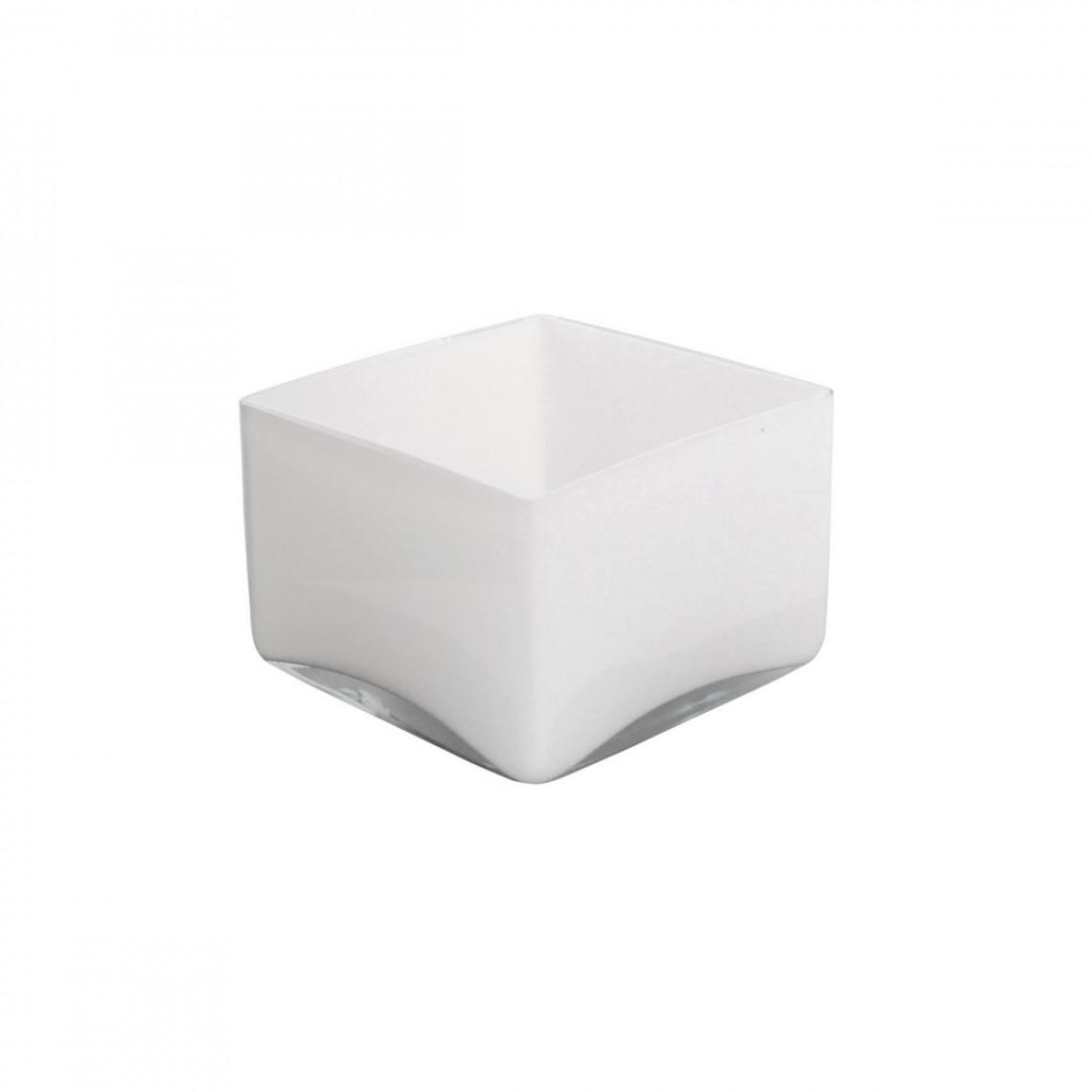 Réhausse Cascade carrée blanche (H10)