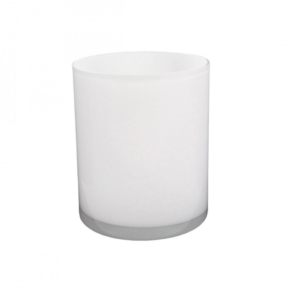Réhausse Cascade ronde blanche (H20)
