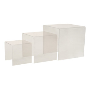 Kit gigogne plexi Dita transparent (3 éléments)