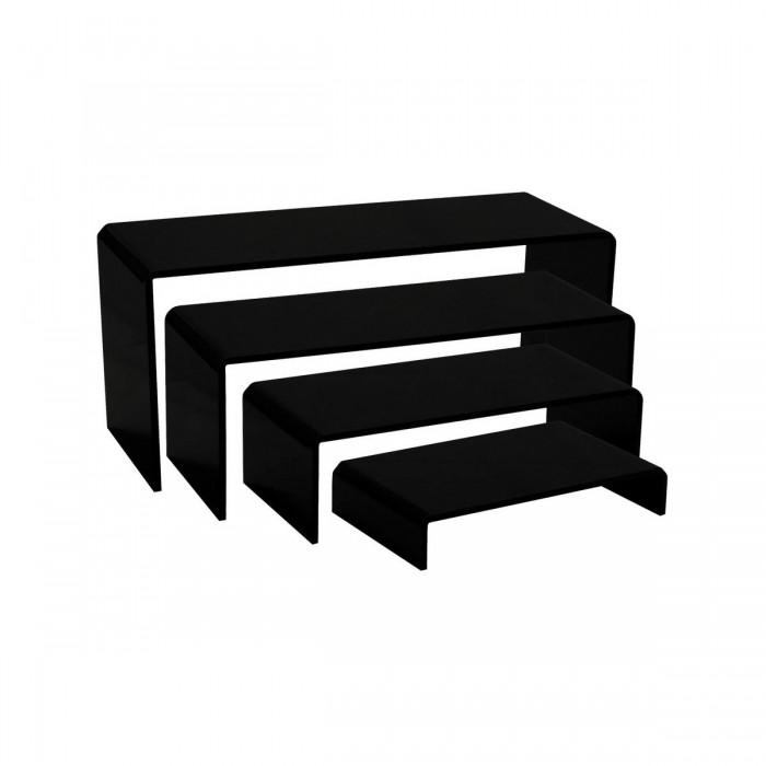 Kit gigogne plexi Eva noir (4 éléments)