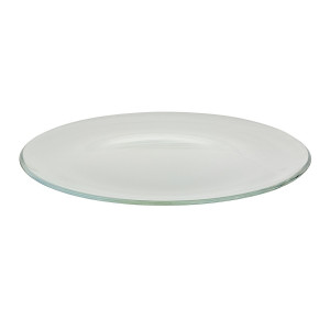 Assiette cocktail Optic transparente (Ø32