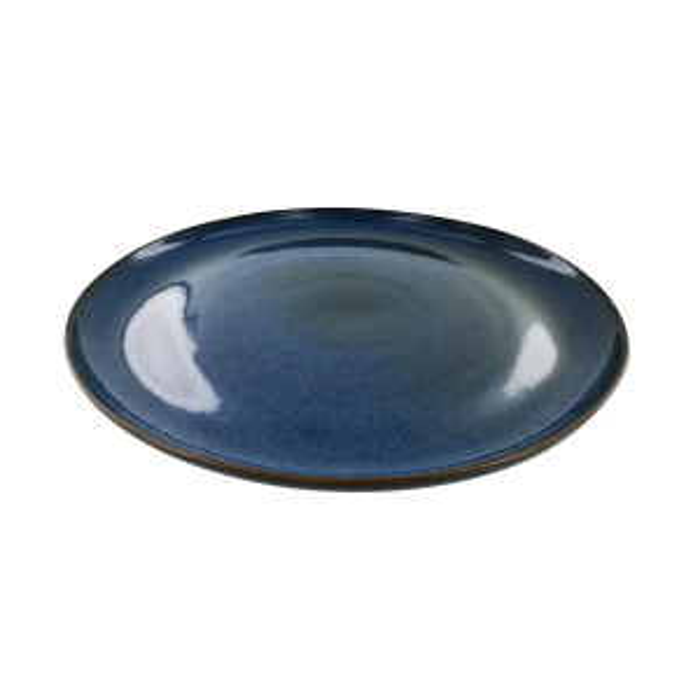 Assiette repas Tivoli bleue (Ø26)