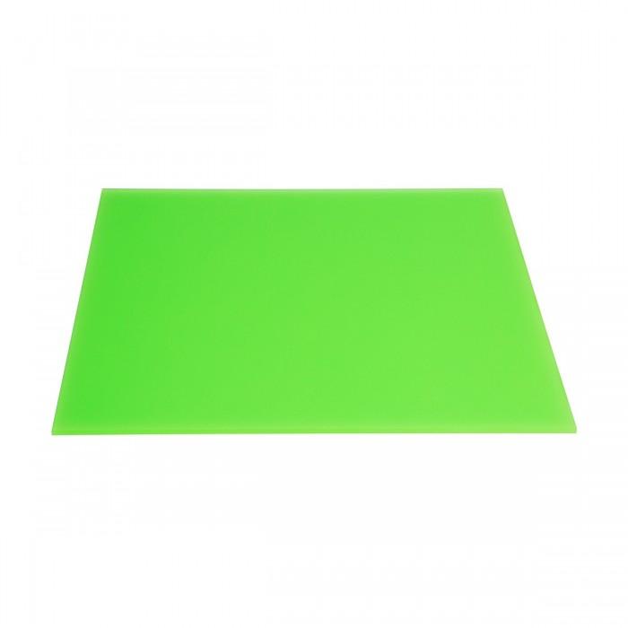 Plateau plexi Boy green (35 x 35 cm)