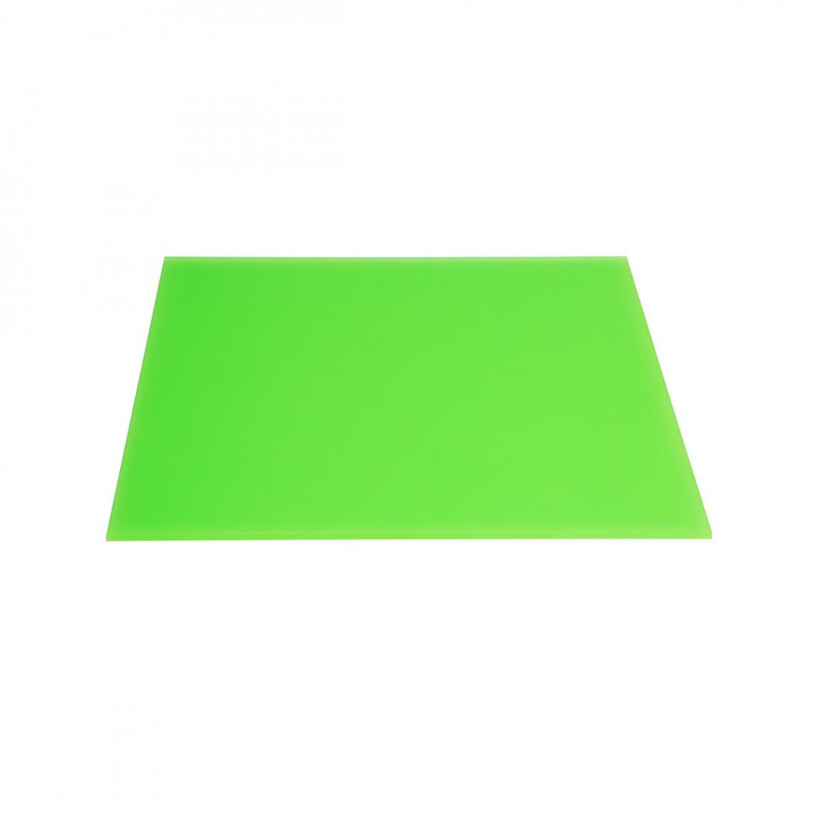 Plateau plexi Boy green (30 x 40 cm)