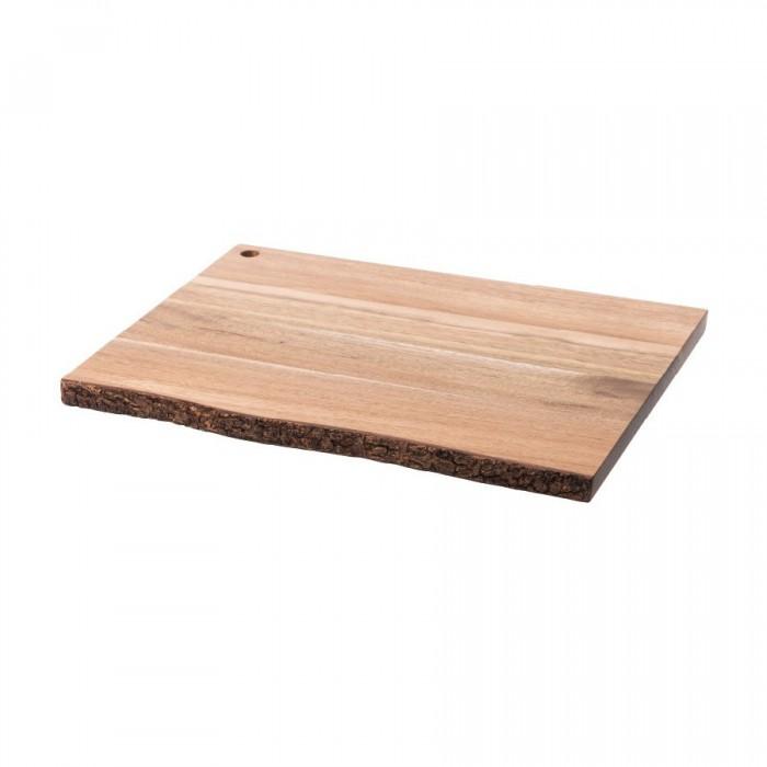 Planche à découper en bois acacia Nature (32 x 40 cm)