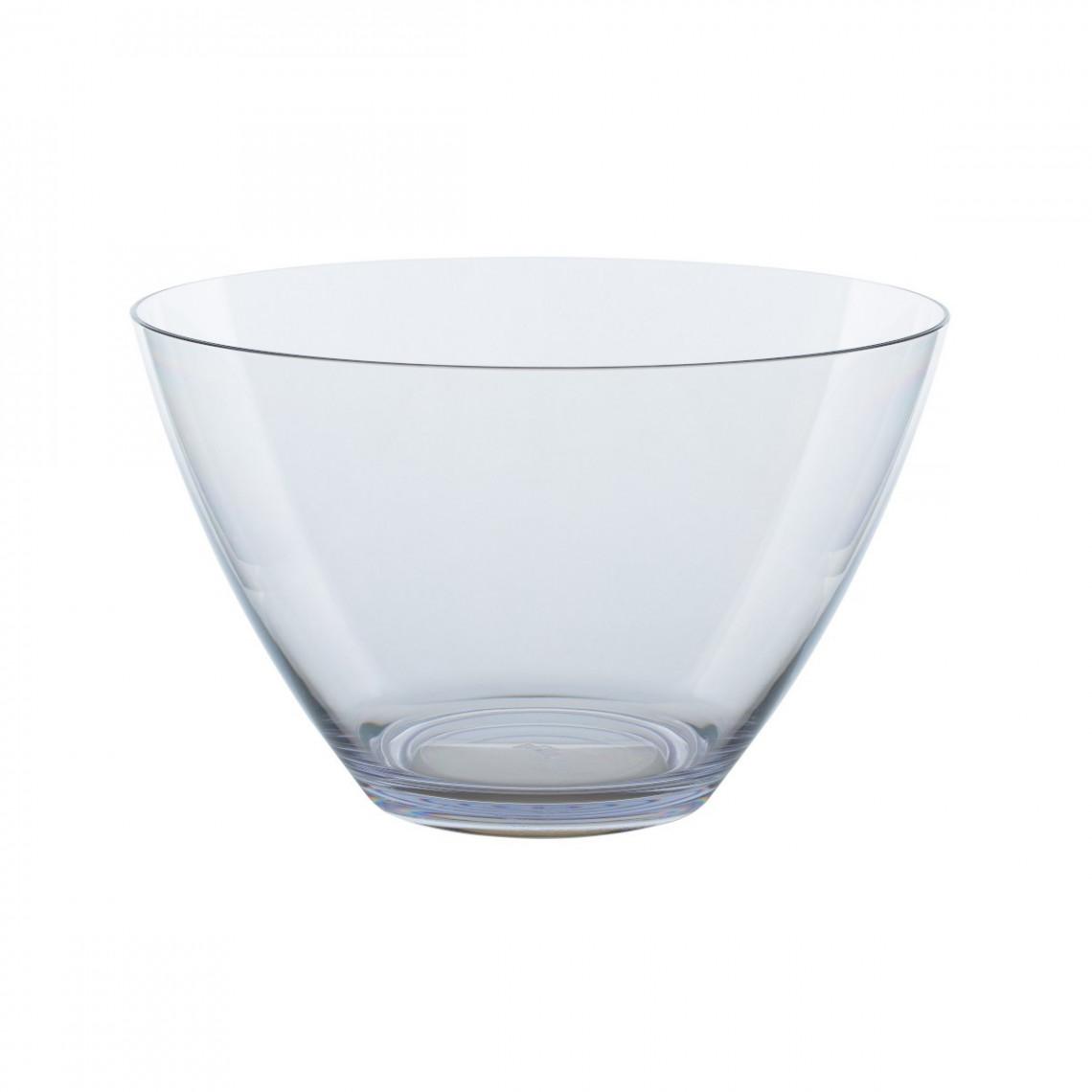 Vasque plexi transparent pour saladier Tutti Frutti