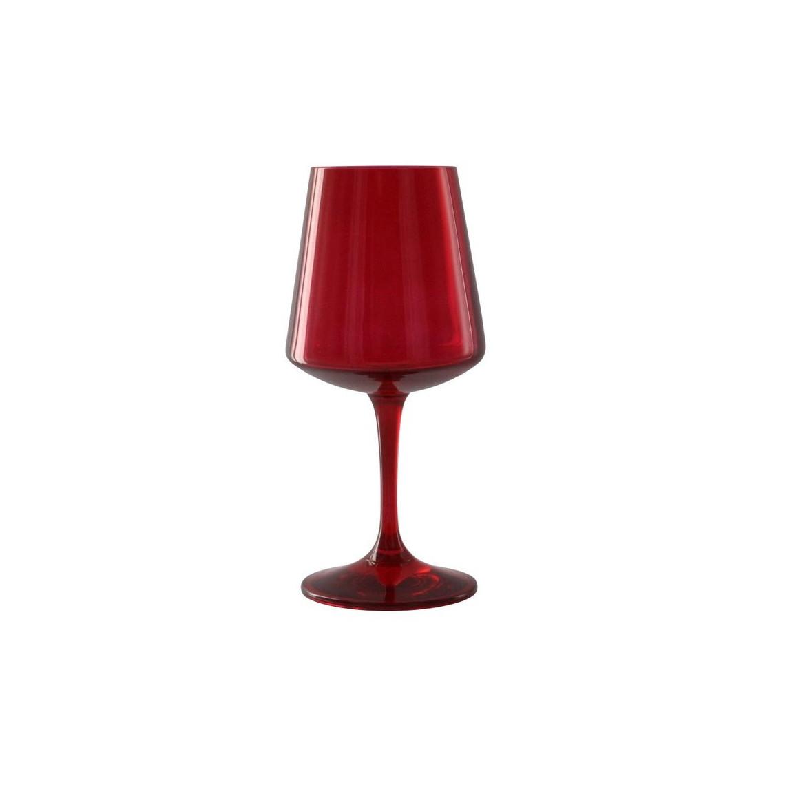 Verre à vin Concept rouge (26 cl)