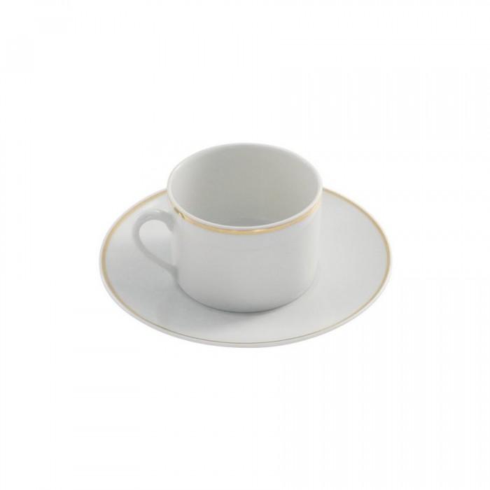 Sous-tasse à thé Filet Or