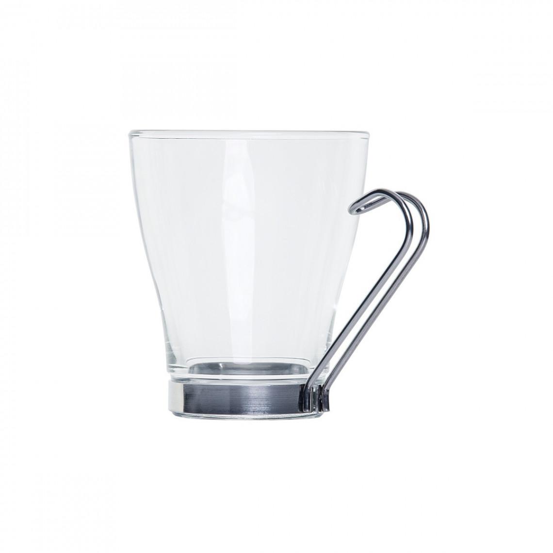 Tasse pause thé (sans sous-tasse) en verre Cascade