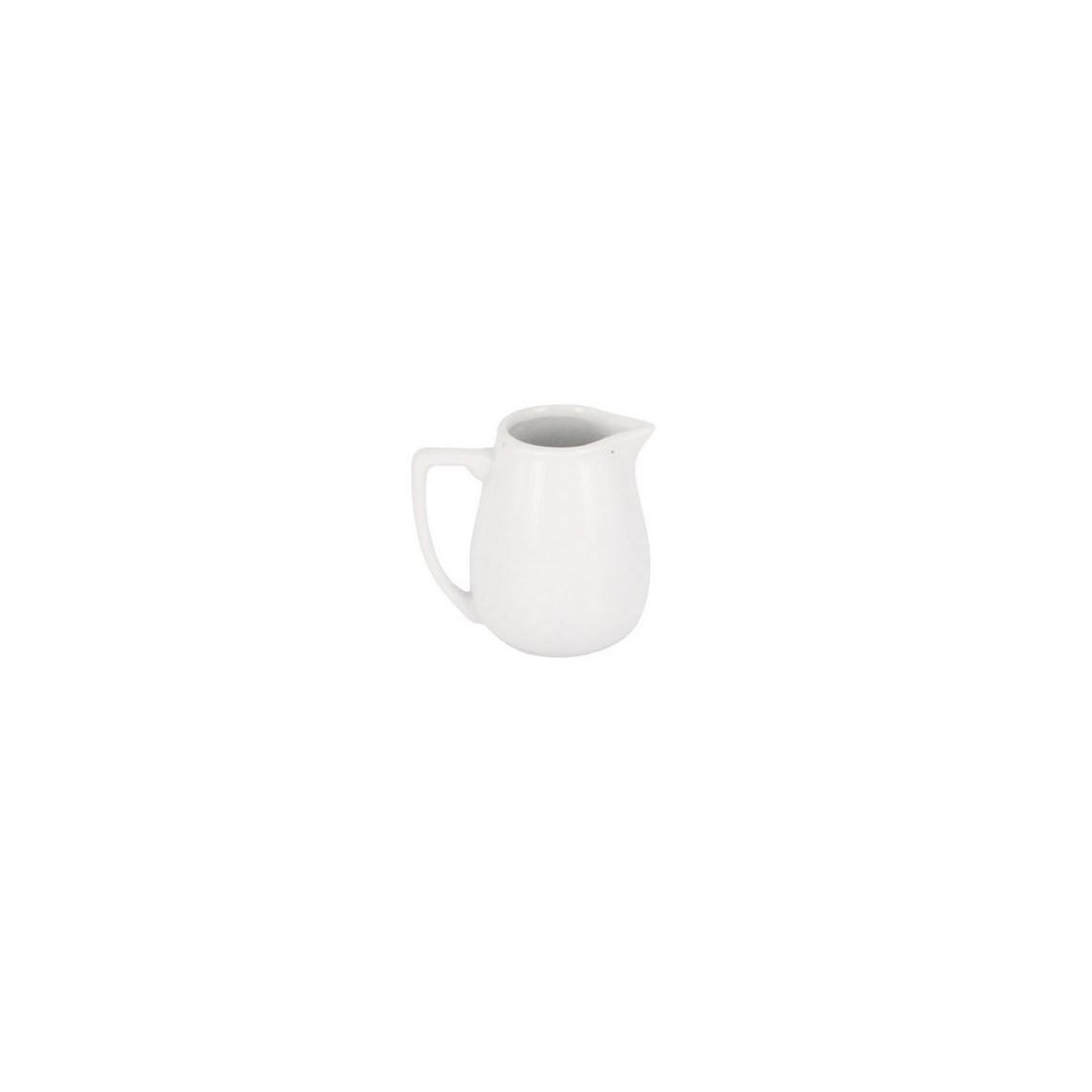 Pot à lait porcelaine individuel Norma (12 cl)
