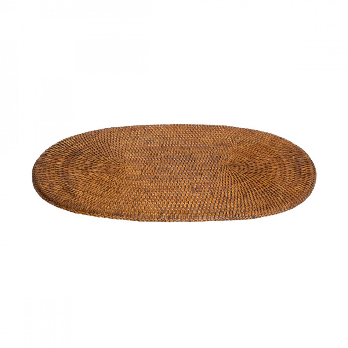 Set de table ovale en rotin Safari (31 x 46 cm)