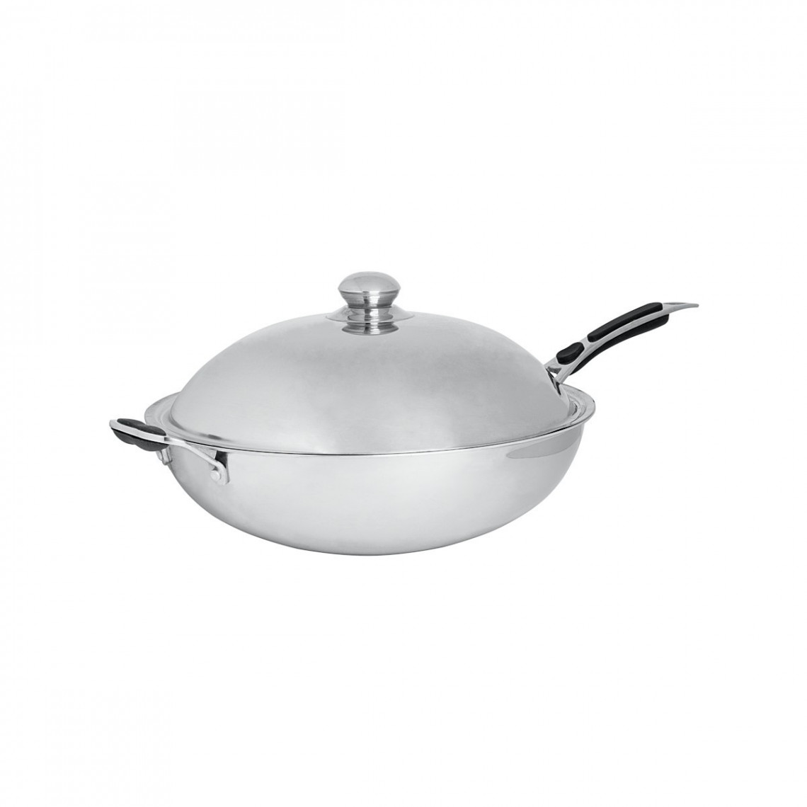 Couvercle sauteuse wok inox Cooking