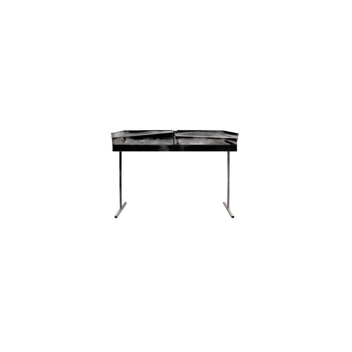 Barbecue table inox