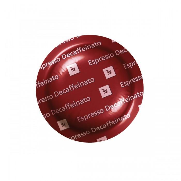 Boîte de 50 capsules nespresso décaféiné