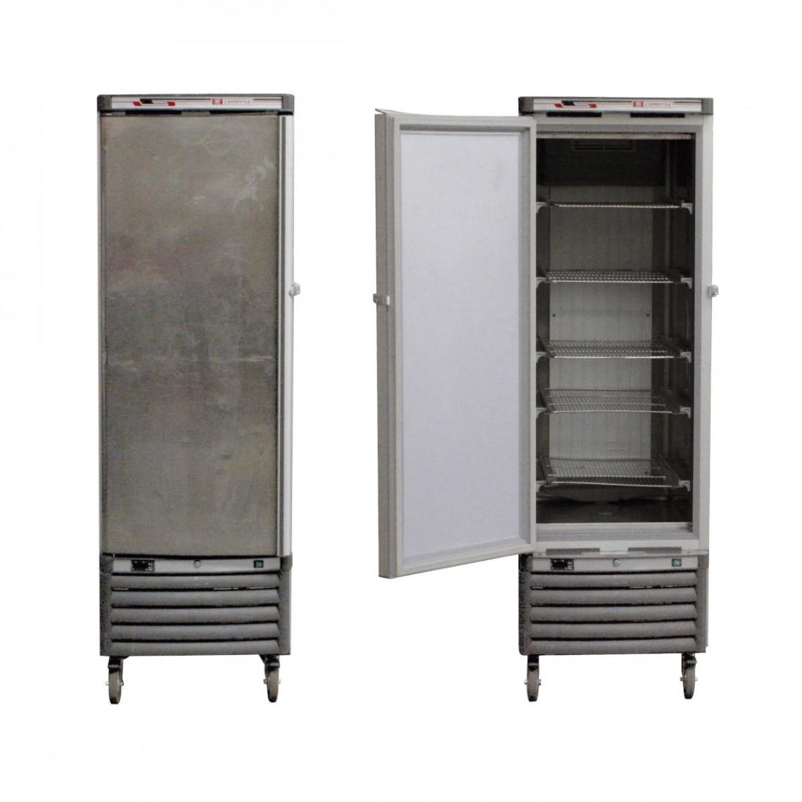 Réfrigérateur inox 5 grilles (400 l)