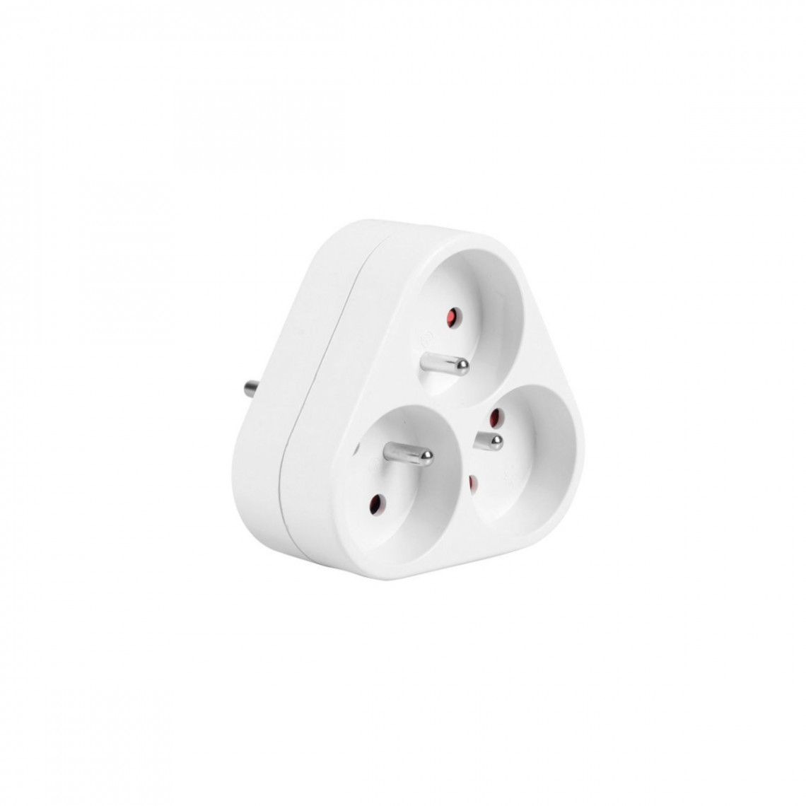 Multiprise 3 entrées  pour petits appareils (max 3