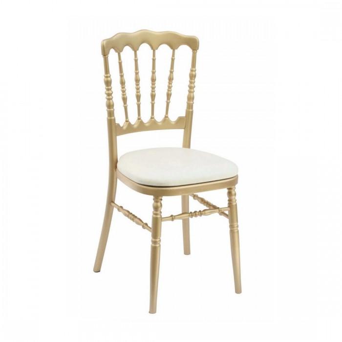Chaise Napoléon III or (assise à choisir en plus)