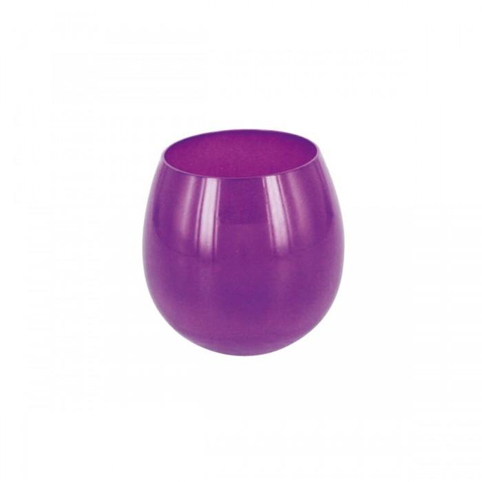 Verrine Sphère violet opaque (15 cl)