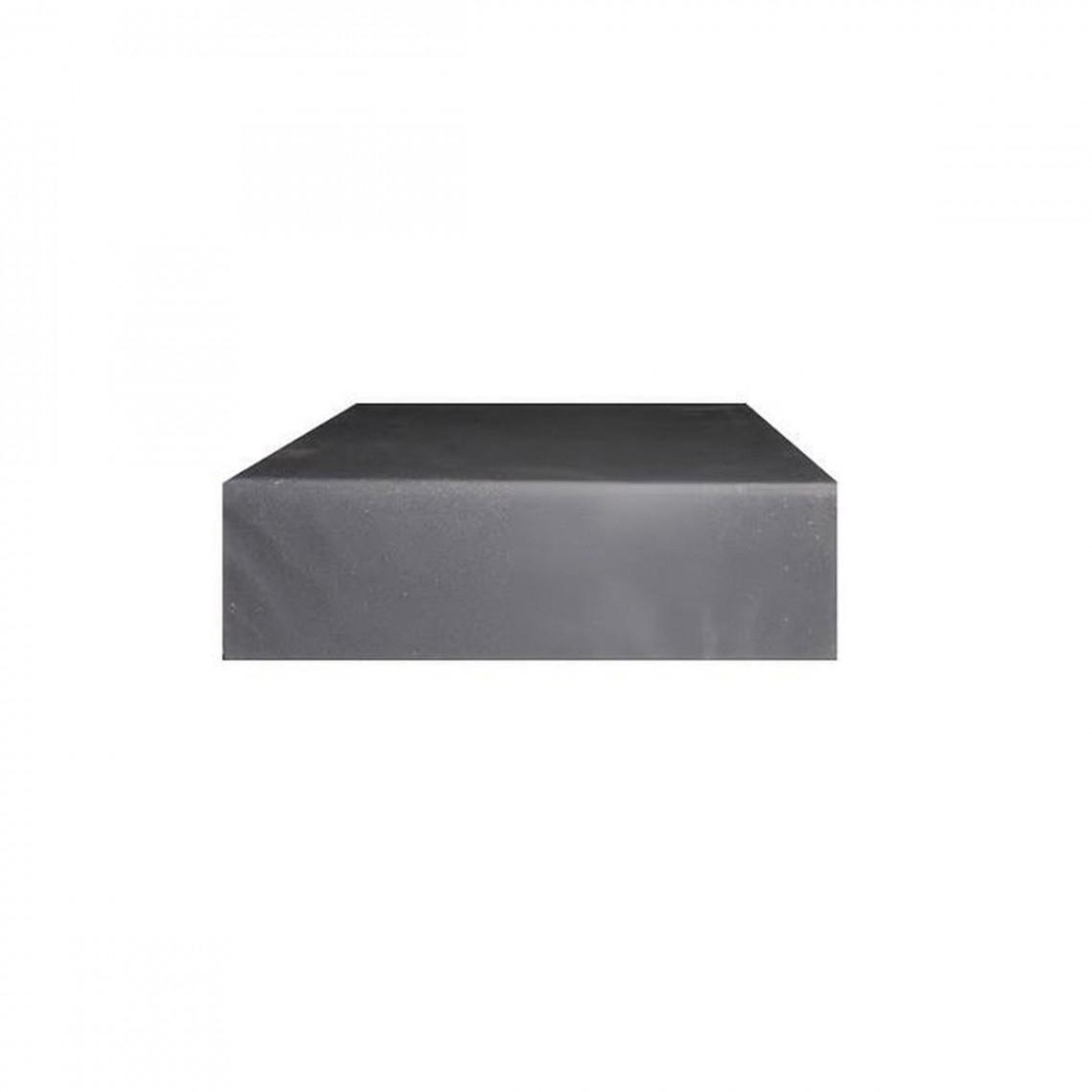Estrade moquette grise PM (1 x 1 m)