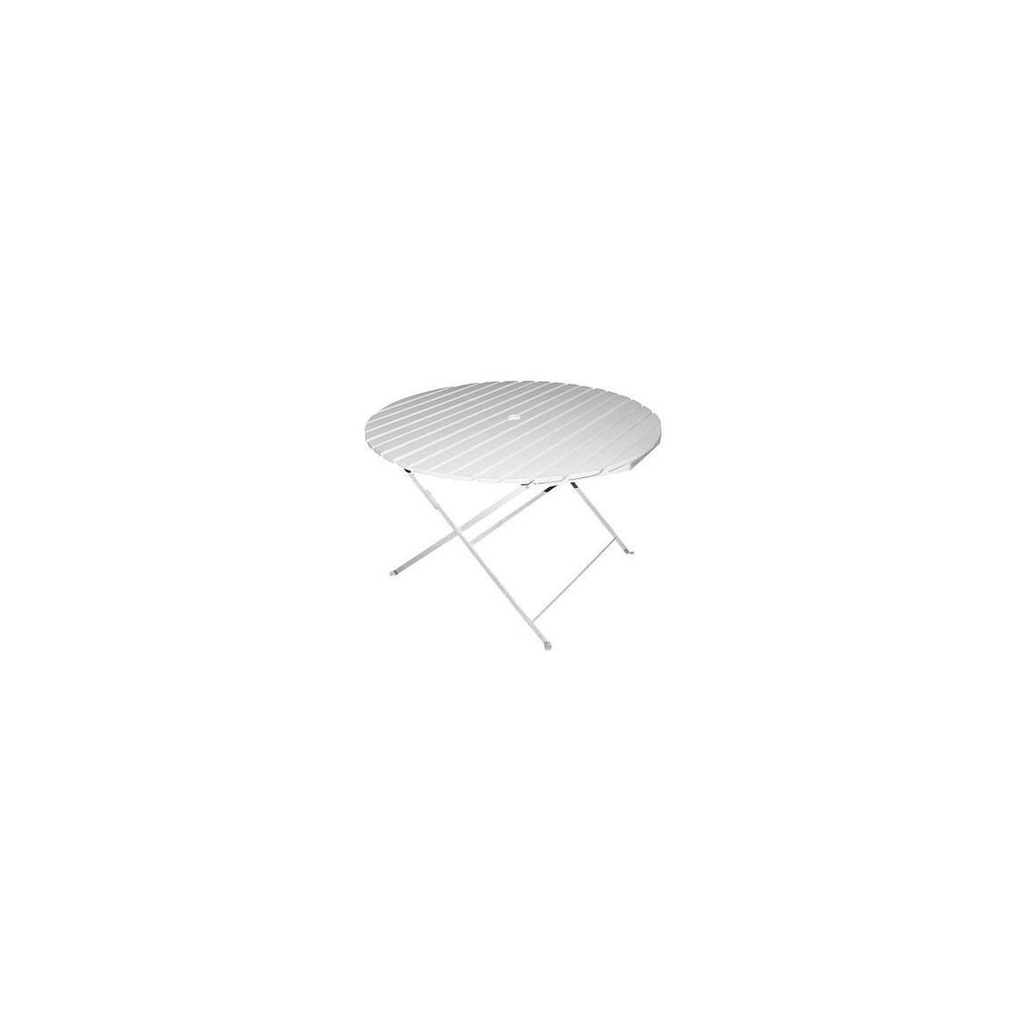 Table de jardin bois Capri (Ø 1