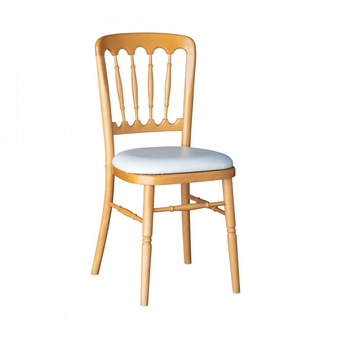 Chaise Scala en bois naturel (assise à choisir en plus)